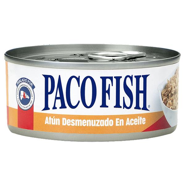 Paco Fish Atún Desmenuzado en Aceite A/F 5 oz