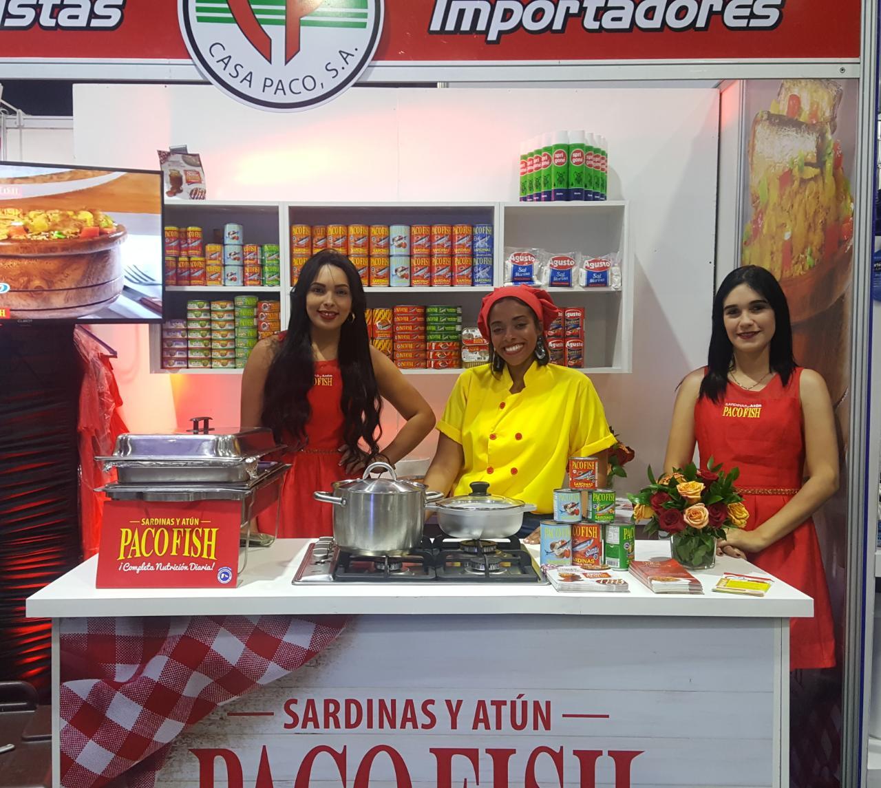 Casa Paco, S.A apoyando el Consejo Nacional de Comercio de Provisiones (CNCP) en la Expo Feria de Provisiones 2019